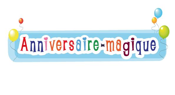 anniversaire magique